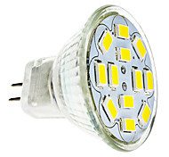 cheap -2W 240-260 lm GU4(MR11) LED Spotlight 12 leds SMD 5730 Warm White Cold White DC 12V