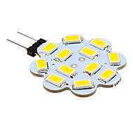 2W G4 Luci LED Bi-pin 12 leds SMD 5630 Bianco caldo Luce fredda 250lm 3500/6000K DC 12V