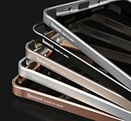 Недорогие -baseus® ультратонкий аэрокосмического алюминиевого сплава бампер рама жесткий чехол для Samsung Galaxy Примечание 4