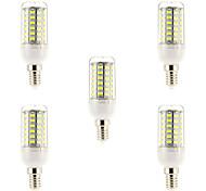 E14 LED Filament Bulbs 69 leds SMD 5730 Natural White 1500lm 6000-6500K AC 220-240V