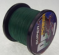 cheap -1000M / 1100 Yards PE Braided Line / Dyneema / Superline Fishing Line Dark Green 28LB / 18LB / 10LB / 15LB / 12LB / 22LB