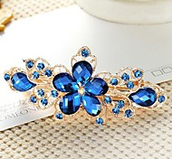 cheap -Women's Rhinestone Alloy Hair Clip Flower