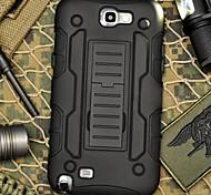 Band Klemmfallschutz Rüstung Schutzmantel mit Ständer und Clip für Samsung Galaxy Note N7100 2