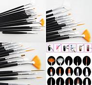Недорогие -15 Nail Art наборы Nail Kit Art Маникюр Инструмент макияж Косметические Nail Art DIY