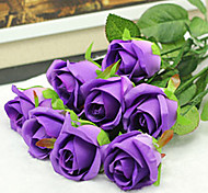 cheap -Artificial Flowers 2 Branch Wedding Flowers Roses Tabletop Flower