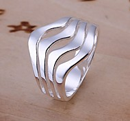 cheap -Women's Sterling Silver Statement Ring - Fashion Ring For Wedding / Party / Daily