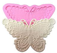 Недорогие -для украшения торта формы бабочки силикона шнурок форма для помады конфеты ремесел украшения шоколада PMC смолы глины