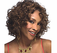 High Quality Fashion High Quality Synthetic Wigs High Temperature Wire Little Curls
