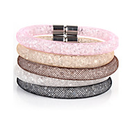 Vilam® Mesh Stardust Bracelets With Crystal stones Filled Magnetic Clasp Charm Bracelets Bling Bling inspirational bracelets Christmas Gifts