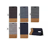 cheap -Case For LG G2 LG LG Case Card Holder Wallet with Stand Flip Full Body Cases Solid Color Hard PU Leather for