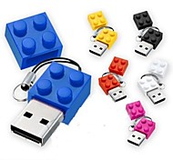 New Toy Bricks Cartoon 8GB USB 2.0 Flash Pen Drive