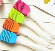 baratos -cozinha de casa criativa silicone escova macia para limpar o pincel (cor aleatória)