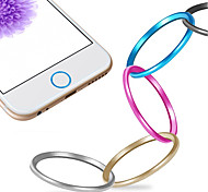 cheap -High quality Metal Home button Cover Ring Protector Circle for iPhone 6 /6 Plus/5S/iPad Air 2/iPad mini