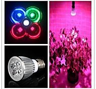 cheap -5W E26/E27 LED Grow Lights MR16 3 High Power LED 450-550 lm Natural White Red Blue Green K AC 85-265 V