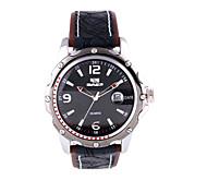 cheap -Men's sports Watch Genuine Leather Strap Cool Watch Unique Watch