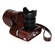 Недорогие -мешок случая съемная крышка камеры dengpin® Пу кожа масло кожа для Fujifilm X-E2 х e1 (ассорти цветов)