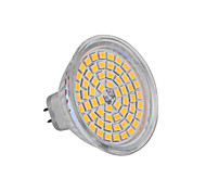 abordables -YWXLIGHT® 5W 350-400 lm GU5.3(MR16) Focos LED MR16 60 leds SMD 2835 Blanco Cálido Blanco Fresco DC 12V