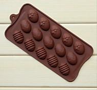 baratos -moda silicone de chocolate gelo sabão geléia pudim bolo decorando utensílios de cozinha cozinha bakeware molde (cor aleatória)