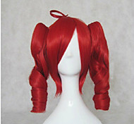 cheap -Synthetic Hair Wigs Loose Wave With Ponytail Capless Lolita Wig Cosplay Wig Mid Length Brown Blonde Red