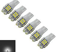 luz de decoración t10 20 smd 3528 85lm blanco frío 6000-6500k dc 12v