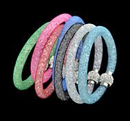 Недорогие -2015 Новый приходить простые цвета смешивания моды женщин Магнитный браслет ювелирных изделий