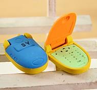 симпатичные флип-телефонные многоцветные ластики (случайная доставка)