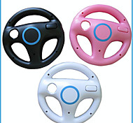 cheap -DF-0083 Bluetooth Steering Wheels For Nintendo Wii Nintendo Wii U Wii U,Aluminum PVC Steering Wheels Novelty Wireless