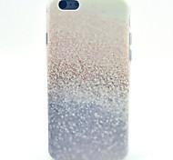 sequin motif plage TPU étui souple pour iPhone 5c