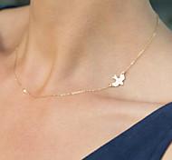 Недорогие -Жен. Кристалл Ожерелья с подвесками - кисточка вбок Мода Ожерелье Назначение Особые случаи День рождения Подарок Повседневные