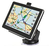 Недорогие -Новый 7-дюймовый навигации авто автомобиль грузовик GPS 4GB карта села навигация вздрогнуть 6.0 FM MP3 MP4 (в пределах карте Европы)