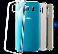 Special Design High-Grade TPU Ultra-Thin Transparent Back Shell for Samsung Galaxy S6