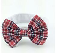 Недорогие -Кошка Собака пояс/Бабочка Одежда для собак Свадьба Красный Костюм Для домашних животных