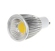 5W GU10 LED Spotlight MR16 1 COB 450-550lm Warm White Cold White 3000-3500K AC 100-240V