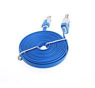 Недорогие -2m плоский лапша микро USB зарядное устройство для синхронизации данных кабельные телефонные кабели& адаптеры