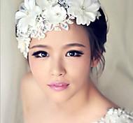 Недорогие -кристалл цветок волосы цветок невесты волосы свадьба головной убор элегантный стиль