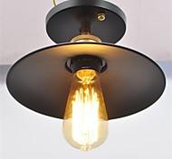 Rustique Rétro Traditionnel/Classique Lanterne Globe Saladier Montage du flux Pour Salle de séjour Chambre à coucher Cuisine Salle à