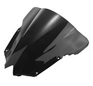 Недорогие -мотоцикл лобовое стекло ветер щит экран черный для Yamaha r6 08-09