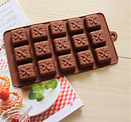 Bakeware Silicone Gift Box Shaped Baking Molds for Chocolate