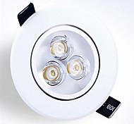 Einbauleuchten Eingebauter Retrofit Hochleistungs - LED 250-300 lm Warmes Weiß Kühles Weiß K Abblendbar AC 220-240 V