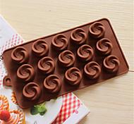 Недорогие -Формы для выпечки силиконовые формы для выпечки водоворот формы для шоколада