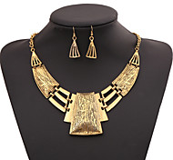 cheap -Women's Jewelry Set Statement Necklace - Fashion Geometric Necklace For Party Special Occasion Birthday Gift