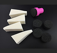 9PCS профессиональные инструменты ногтей маникюр губки для градиента цвета ногтей&холодопроизводительности цвет ногтей