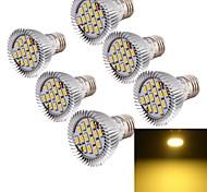 E26/E27 Focos LED MR16 15 leds SMD 5630 Decorativa Blanco Cálido 700lm 3000K AC 85-265V