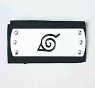 Недорогие -Бижутерия Головные уборы Вдохновлен Наруто Naruto Uzumaki Аниме Косплэй аксессуары Головные уборы Терилен Сплав Мужской