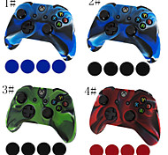 cheap -Camouflage Silicone Skin Protective Case Cover for Xbox one Controller