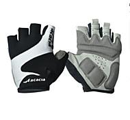 Недорогие -Спортивные перчатки Перчатки для велосипедистов Пригодно для носки Дышащий Износостойкий Меньше трения Без пальцев Лайкра Хлопок