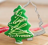 Рождество сосны форма Формочки фрукты вырезать формы из нержавеющей стали