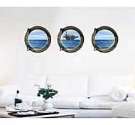 обширные океанические корабли стены стикеры