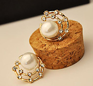 Pearl Simulated Diamond Shell Fashion Star Screen Color Jewelry