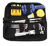 Durable Portable 13 Pcs Watchmaker Watch Repair Tool Set Kit Pin Remover Case Opener Adjuster Fashion Watch